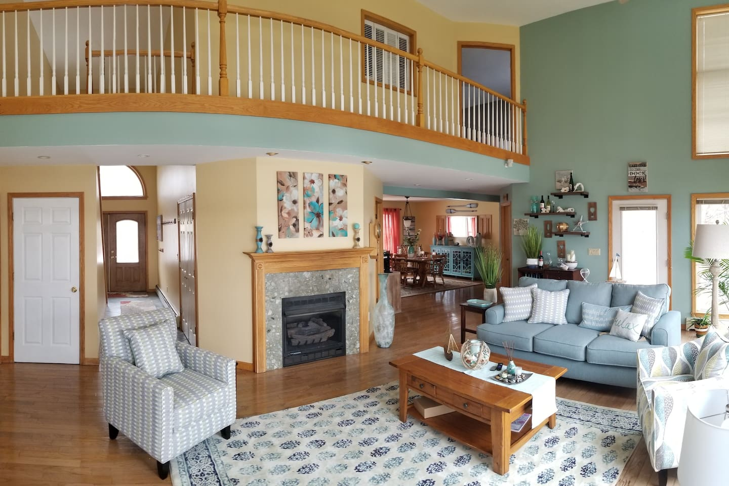 3000 square feet of comfort on 200 feet of lakefront, East Side of Cayuga Lake, New York
