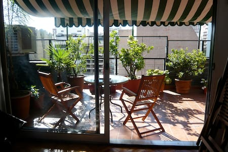 Family Flat with Big Terrace in best of Palermo - 布宜諾斯艾利斯