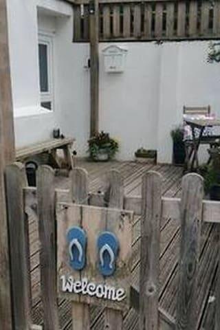 9 Trevelgue Court  quiet  cosy private patio wi fi