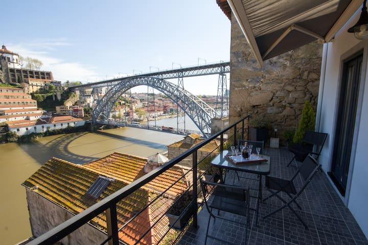 A melhor varanda para o Douro. - Porto - Dom