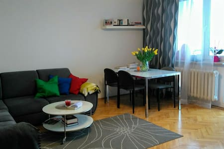 Apartment in Ursynów (15 min from Chopin Airport) - Warszawa - Appartement