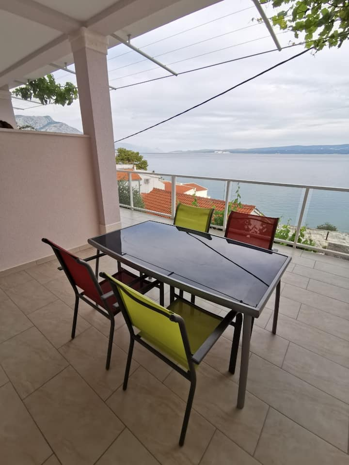 Apartments Hope - One-Bedroom Apartment with Terrace and Sea View