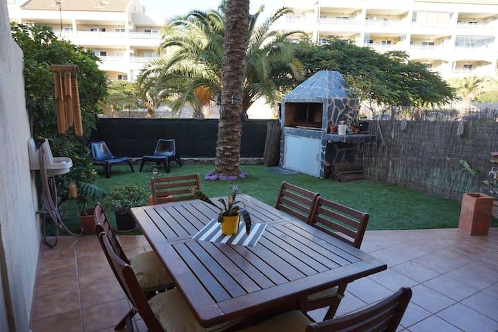 Precioso apartamento con jardin palm mar Oferta
