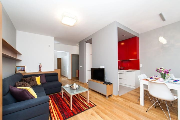 Bright and Comfy big 90m2•Old Town•Wawel.st• St9/4