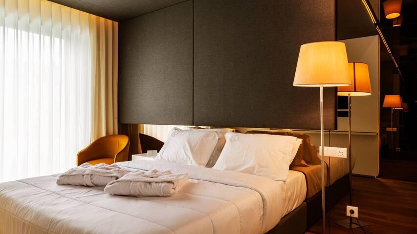 Quarto Duplo Superior (Hotel Agrinho Suites & Spa)