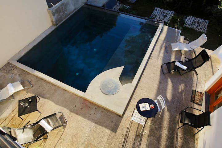 Private ROOM with bathroom and POOL - Torre Colonna-sperone - อพาร์ทเมนท์
