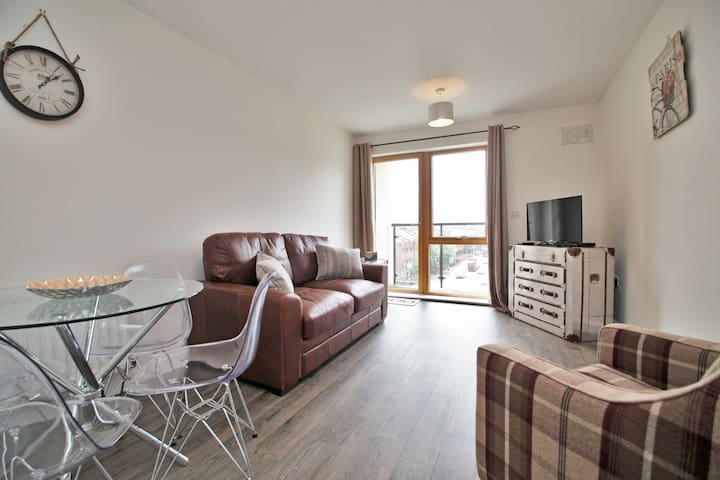 Lovely flat in Reading with parking and balcony - Reading - Flat