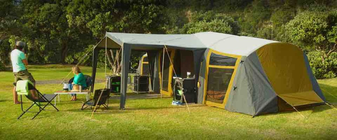 Family Tent Set up Anywhere within 50kms Mackay