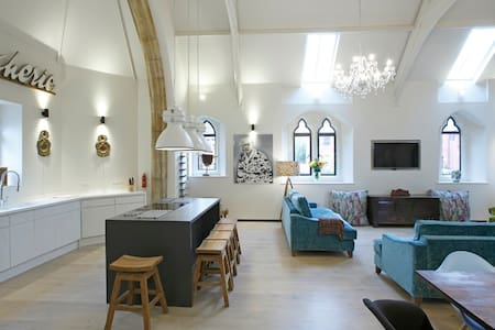 Beautifully Furnished Victorian Church Conversion - Oswestry - Altres