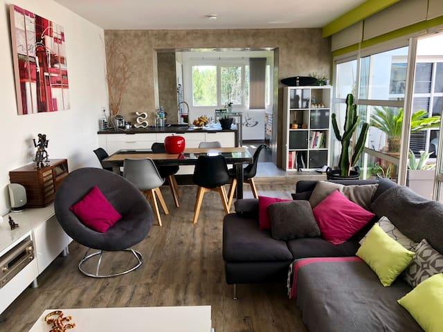Appartement atypique style loft 2 personnes