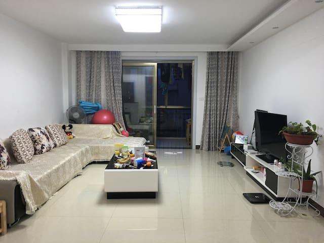 天然氧吧,舒适三房,家居设备一应俱全,给您慢节奏的生活 - 咸宁 - อพาร์ทเมนท์