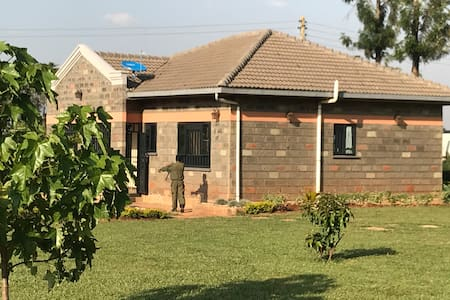 Home Away from Home. Next to the KITALE airport.