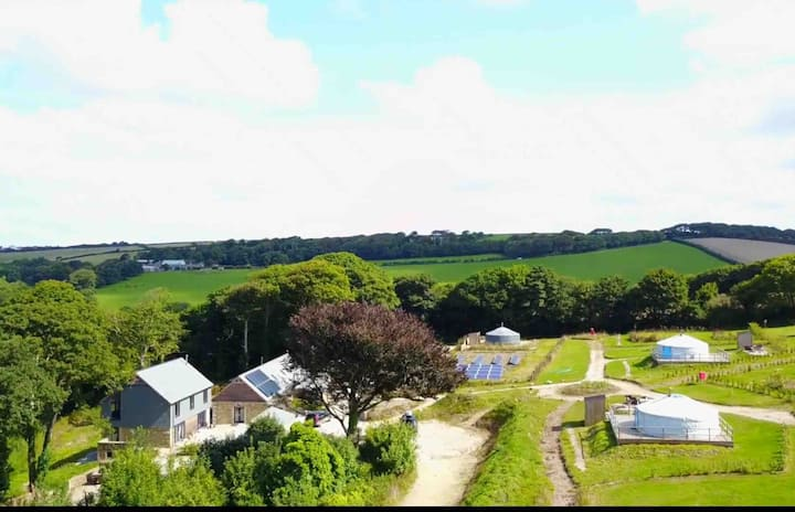 Real Glamping near Newquay