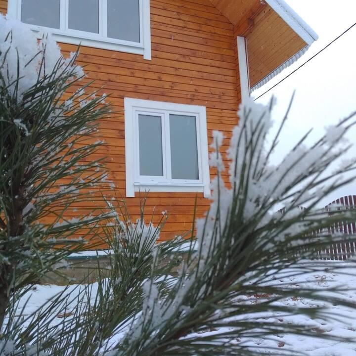 Уютный дом в пригороде Великого Устюга