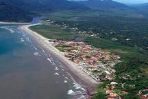 CASA GUARÁU PERUÍBE - PRAIA, RIO E CACHOEIRAS.