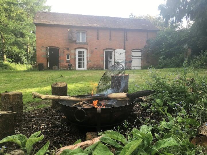Engine House - Off Grid Living, Shropshire/Wales