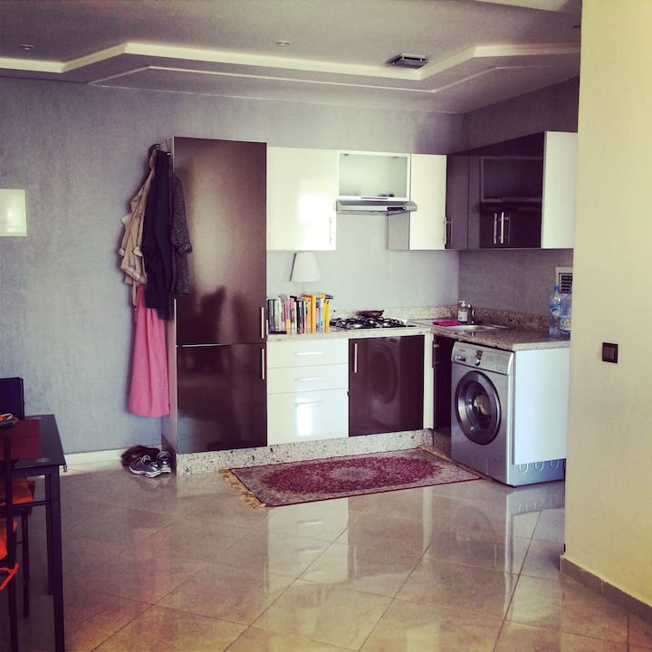 Great apartment in city center Rabat with terras!