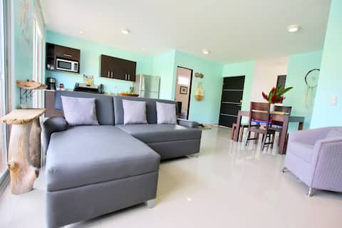 Casa Azul-BEAUTIFUL Home m/privat BASSENG+16' Rancho
