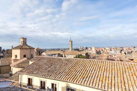 attico centralissimo e panoramico - Viterbo - Appartamento