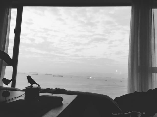 晨看朝阳 晚看落日 面朝大海 超大公共区域 独立卫生间 - Xiamen
