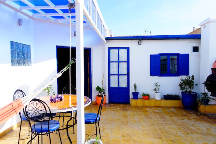 Apartment with a sunny terrasse - Essaouira - Apartemen