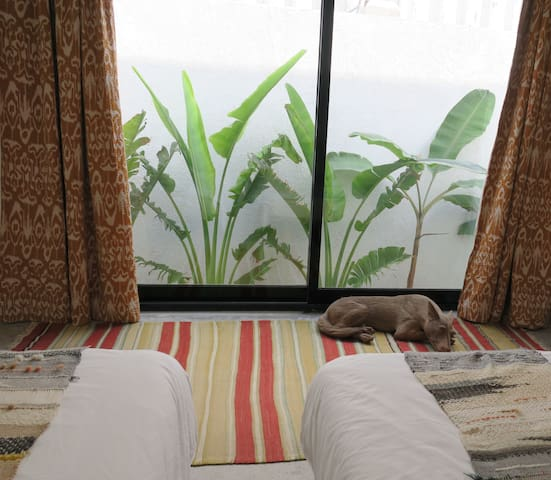 Outdoor Guest Room on Kite Beach Dubai