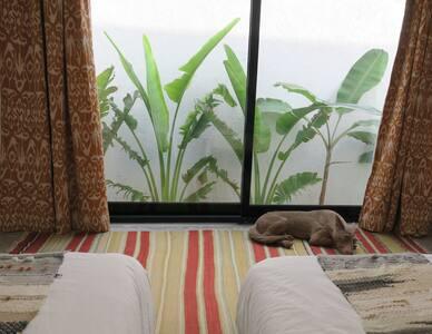 Outdoor Guest Room on Kite Beach Dubai