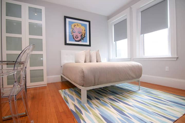 A Stylish Stay w/ a Queen Bed, Heated Floors; #21