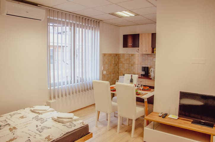 Apartment in center of Niš / free private parking