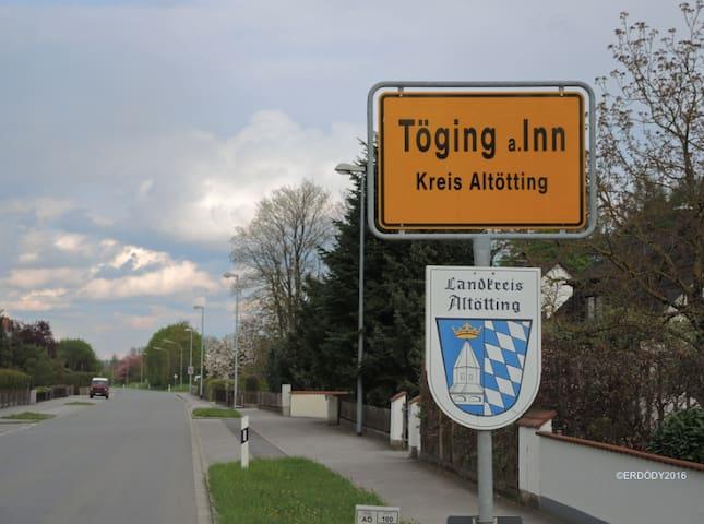Gemütliches Gästezimmer am schönen Inn-Radweg - Töging am Inn - Hus