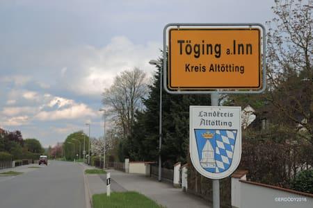 Gemütliches Gästezimmer am schönen Inn-Radweg - Töging am Inn - 단독주택