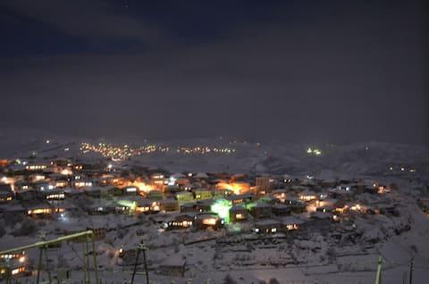 Комфортные условия проживания в горах Дагестана.