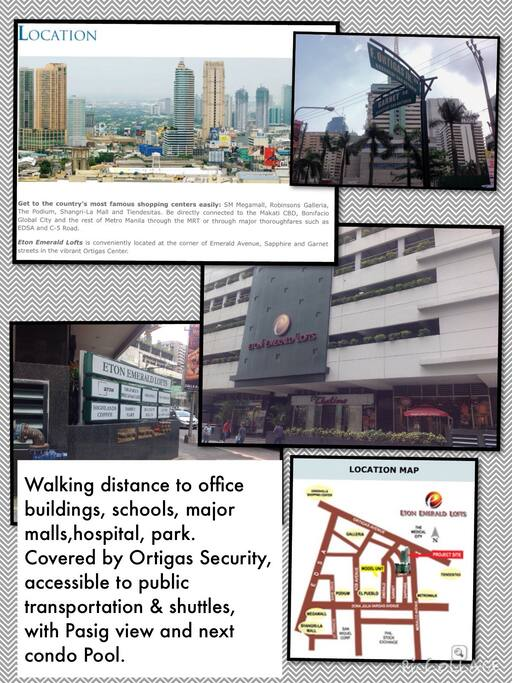 -Proximity to schools, office bldgs, hospital, 3 major malls, 2 mini malls, restos, public transpo