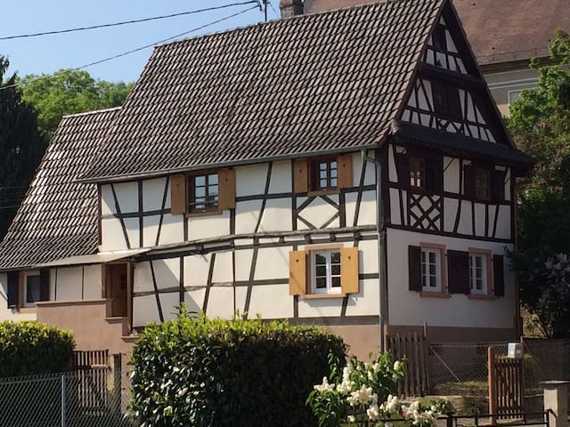 Maison alsacienne typique  6 pers.