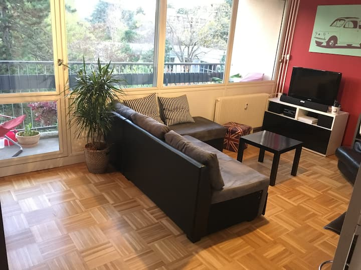 Oullins (Lyon), room in quiet area