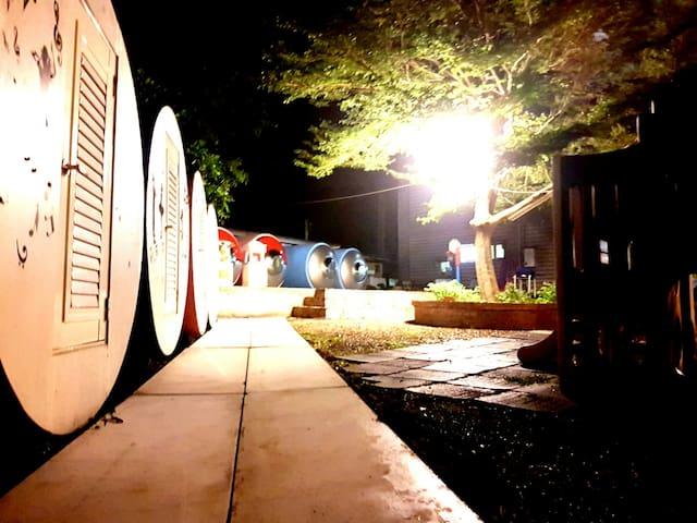 嘉義獅子會館 太空艙露營區 共用衛浴 - Zhuqi Township