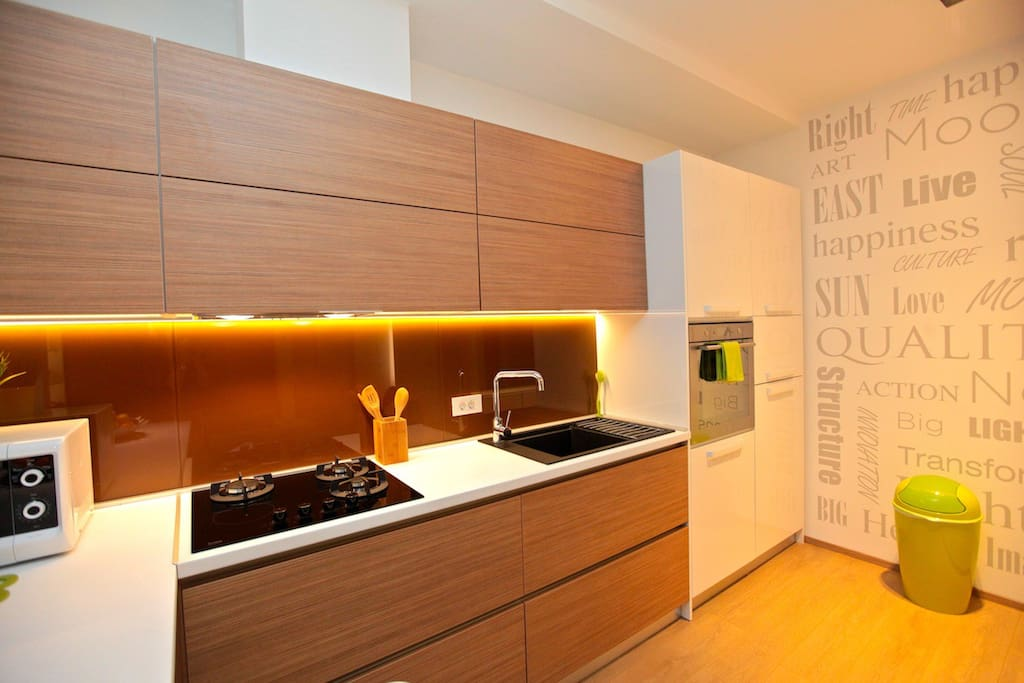 Designed Kitchen (Deluxe Cubo Maksimir 2-near centre)