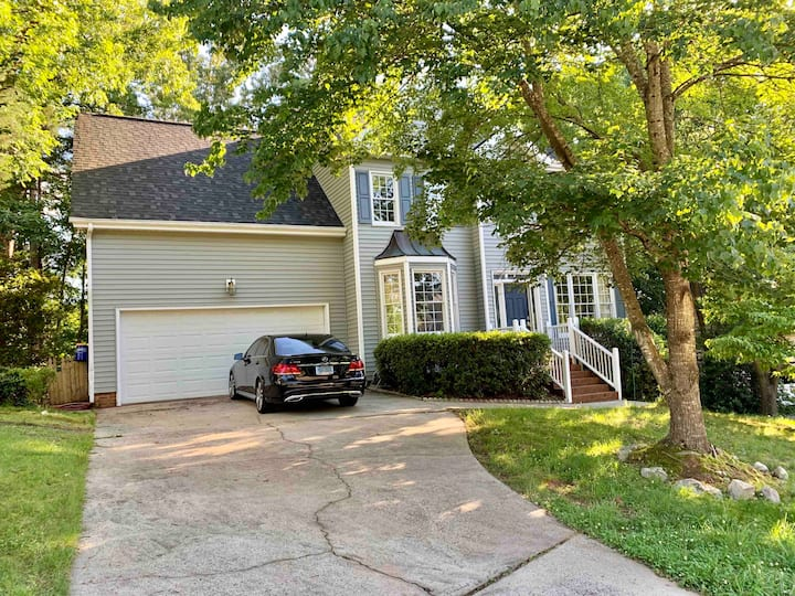 Spacious family home minutes from Downtown Cary