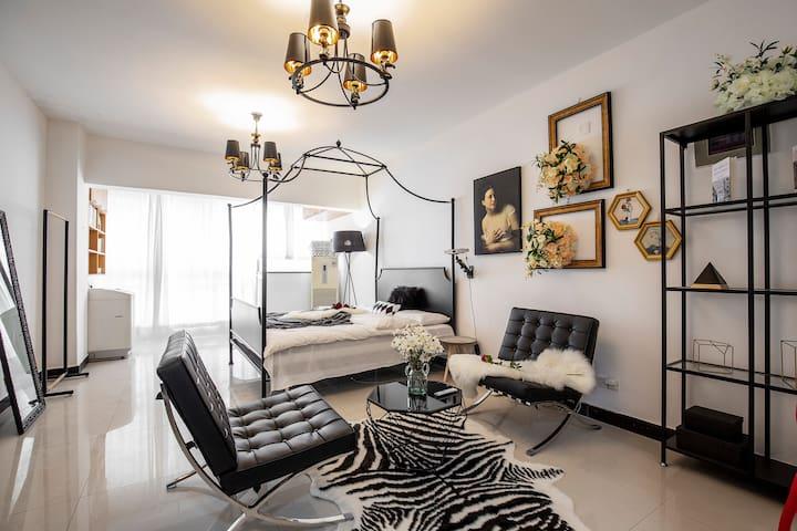 《梵谷&魅影》步行IFS坡子街五一广场高清投影一居室