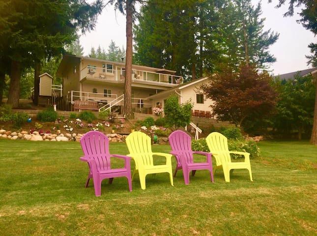 The Lake View House at Shuswap