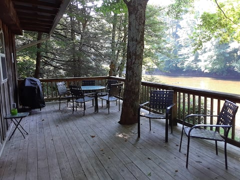 The Riverside Retreat on the Shavers Fork