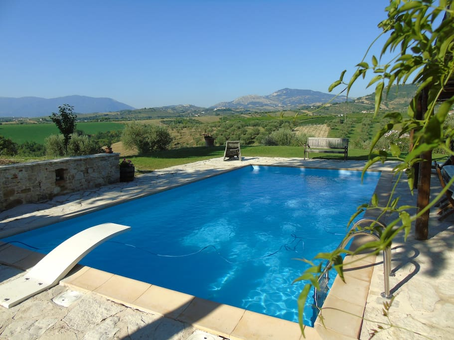 Main residence pool available, by appointment, for a limited period each day.