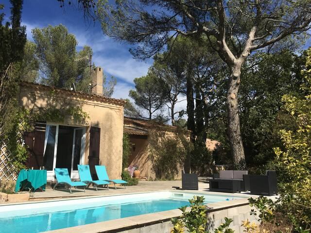 CHARMING VILLA VIEW POSTCARDS AIX 15mm / CASSIS - Fuveau