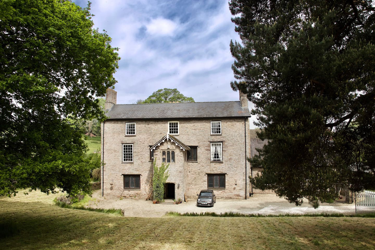 Trebarried Hall is a fine 17th-century building with links to Shakespeare