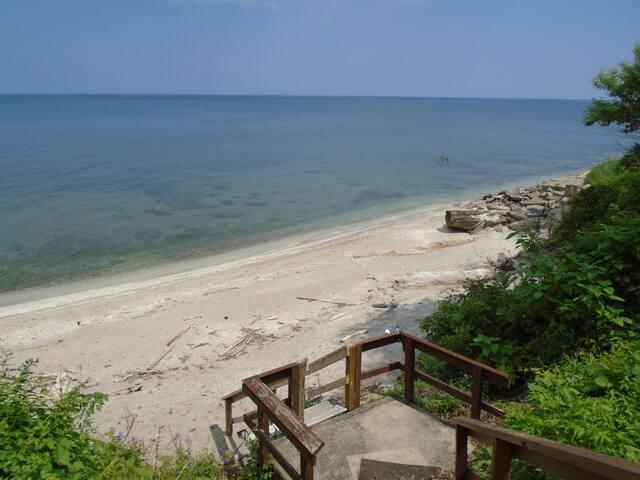 Beachfront Lake House