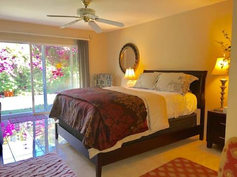 Private Entrance Master Bedroom and Private Bath