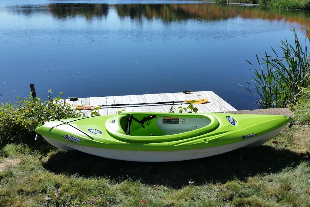 Guests are welcome to use this kayak