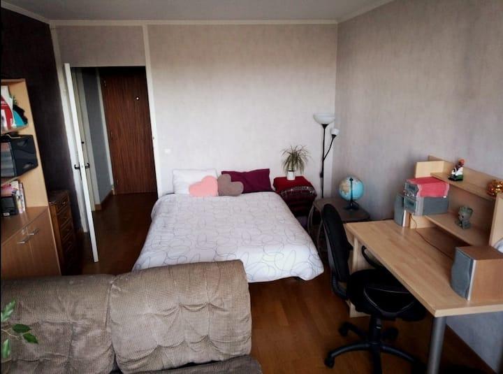 Chambre Lyon 8 disponible pour le confinement