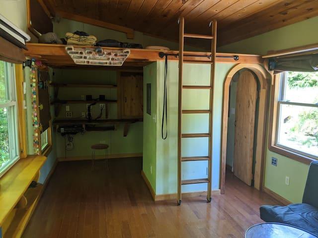 Streamside Tiny House and Recording Studio