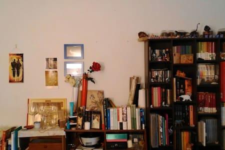 一張大床的房間獨立衛浴,臨近清華大學,愛書人的家,歡迎單車環島騎士 - 新竹市東區光復路二段155巷